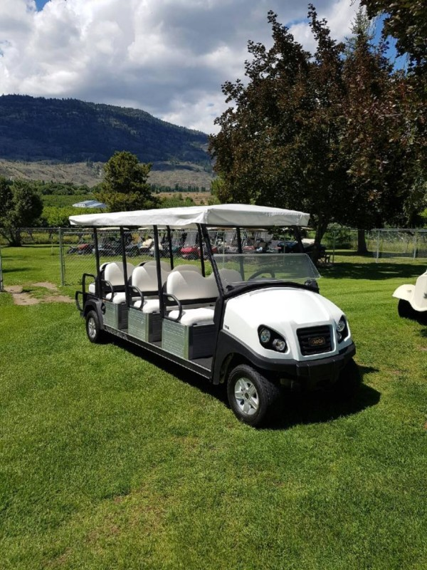 Club Car Transporter Xl 8 Passenger With Canopy Top 2